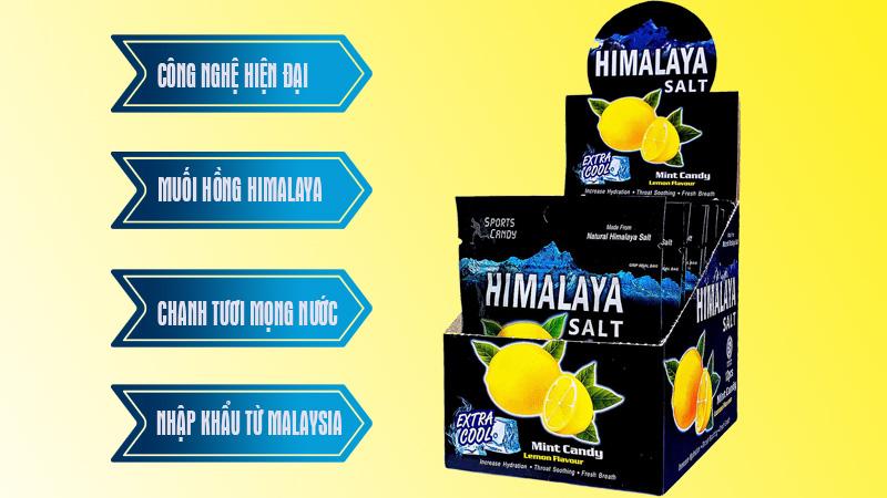 kẹo chanh muối himalaya Lợi ích không ngờ của kẹo chanh muối Himalaya