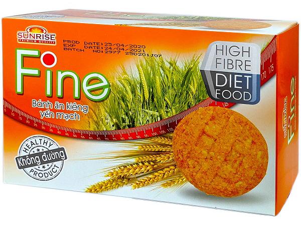 Bánh ăn kiêng Fine Các loại bánh ăn kiêng dành cho người muốn giảm cân